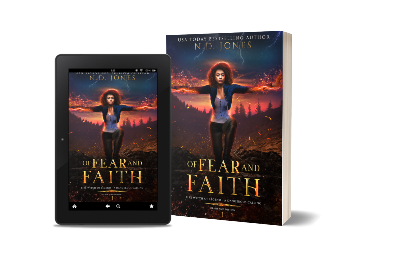 African American Witch and Shapeshifter Romance Novel by ND Jones