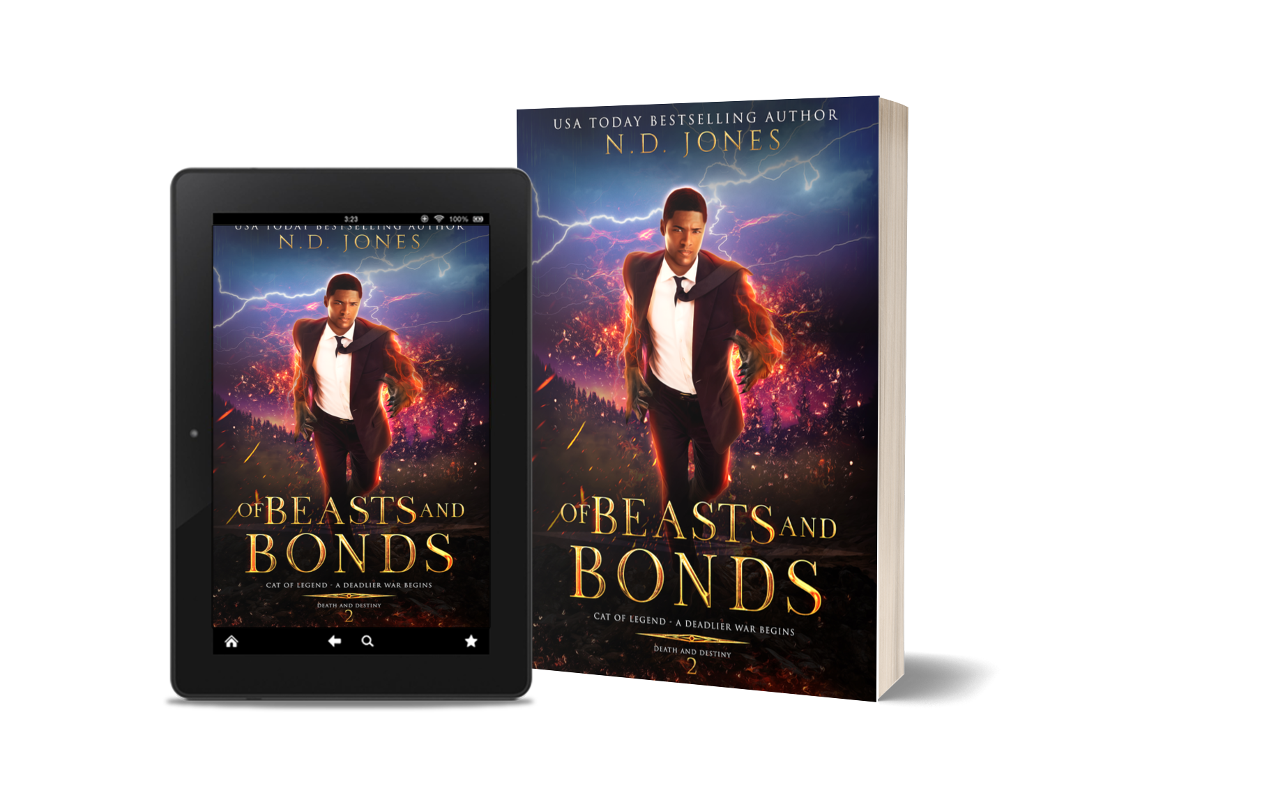 Of Beasts and Bonds African American Witch and Shapeshifter Paranormal Romance by ND Jones
