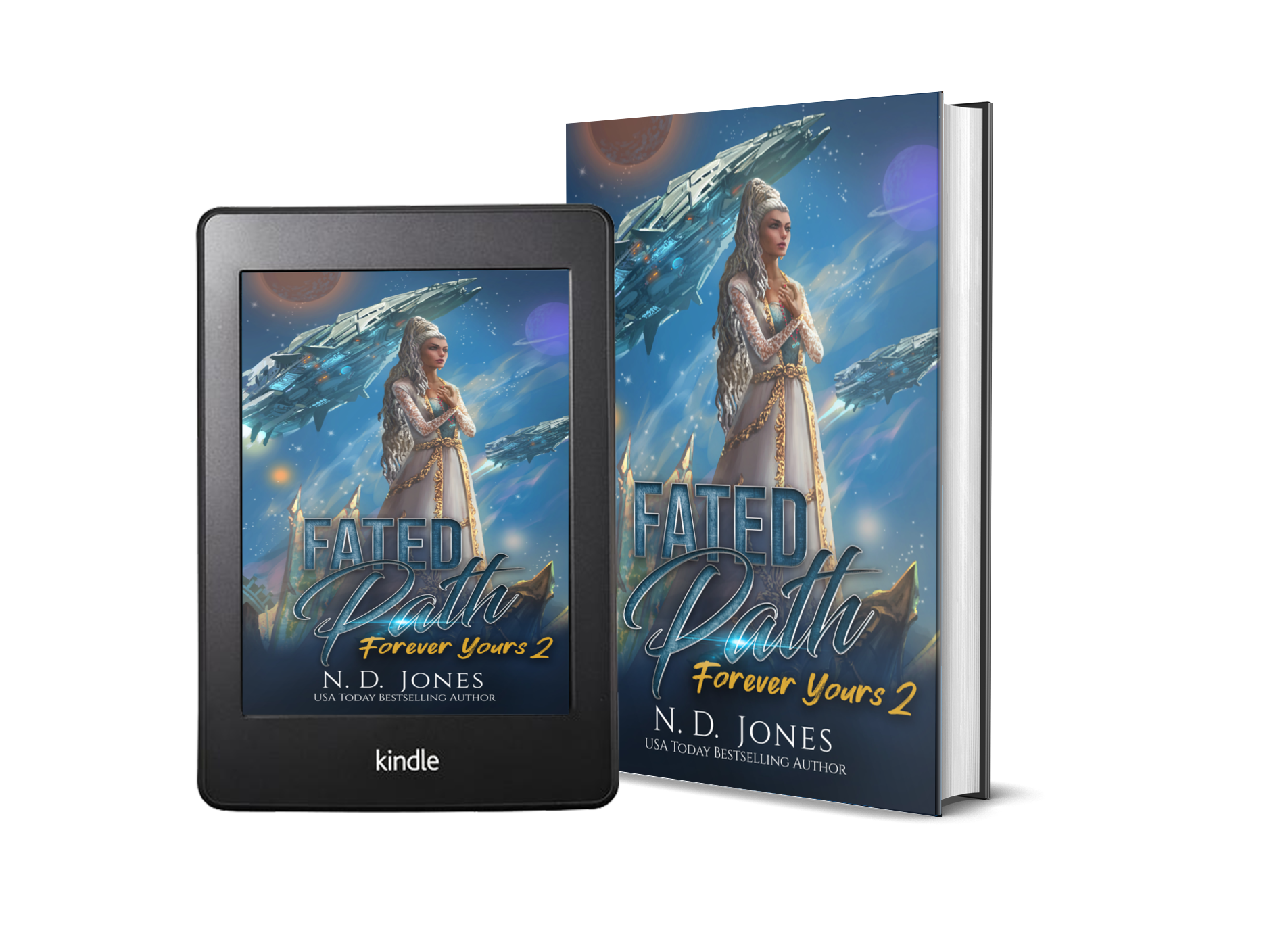 Fated Path Afrofuturistic Fantasy by African American fantasy and paranormal romance author ND Jones