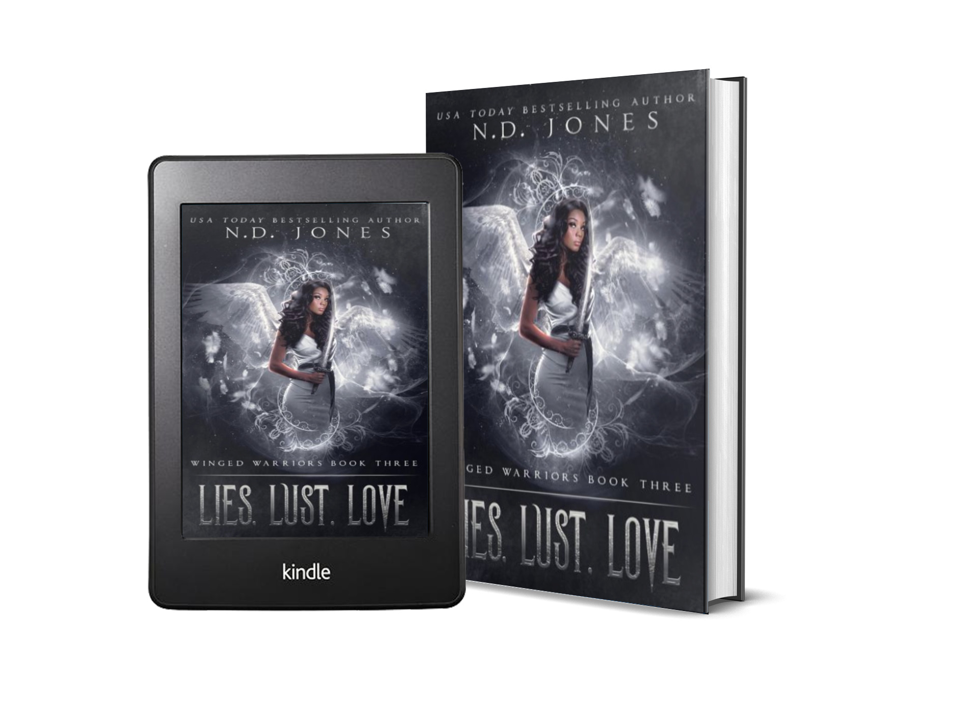 Lies Lust Love African American Angel Paranormal Romance by African American Romance Author ND Jones