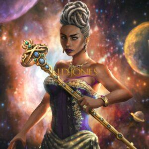 Black Fantasy Bound Souls Lela of Asiya by ND Jones