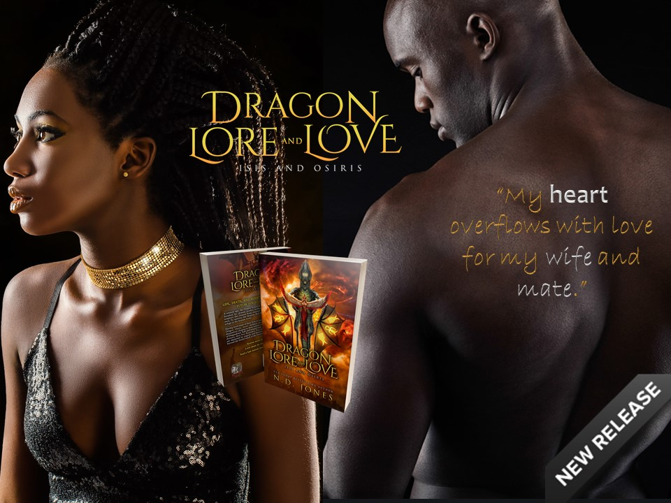 Dragon Lore and Love Paranormal Romance by ND Jones