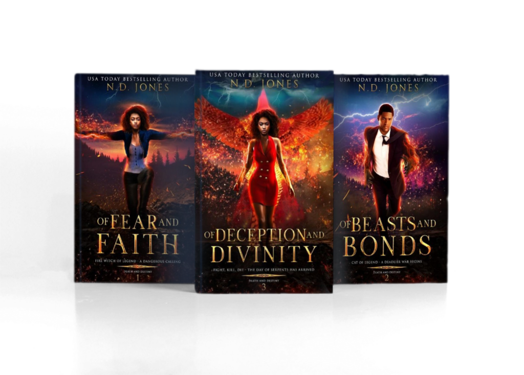 Death and Destiny Complete Series by ND Jones