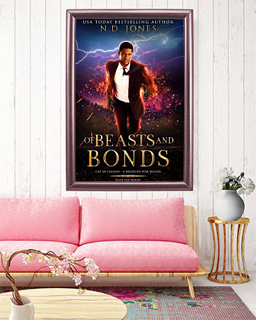 Of Beasts and Bonds Witch and Shapeshifter Urban Fantasy Romance by ND Jones
