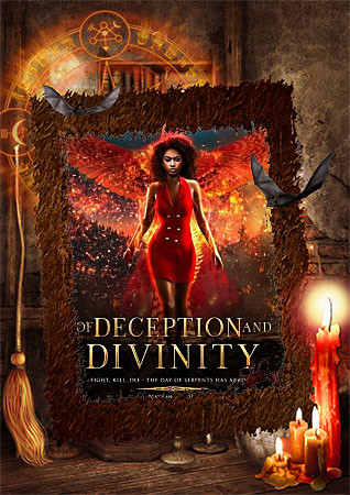 Of Deception and Divinity Black Afrian American Paranormal Romance by ND Jones