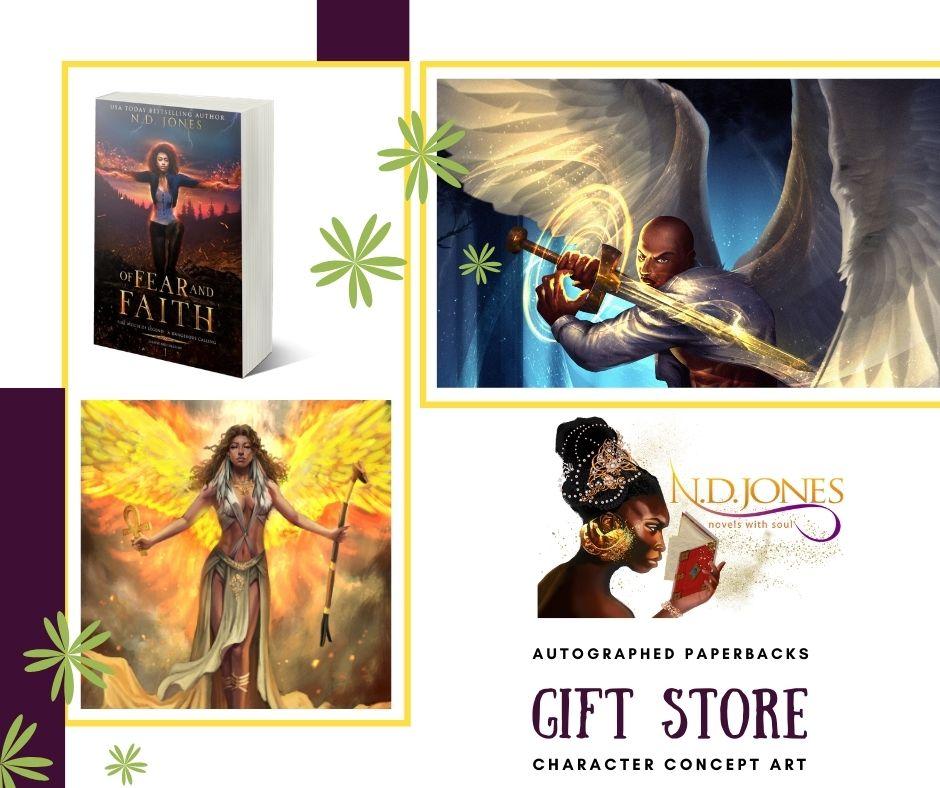 ND Jones Gift Store Black Fantasy Romance