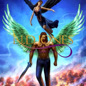 Black Fantasy Romance Angels ND Jones Fire Fury Faith
