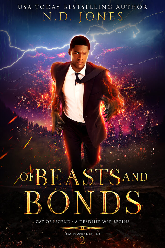 Of Beasts And Bonds Black African American Paranormal Romance ND Jones