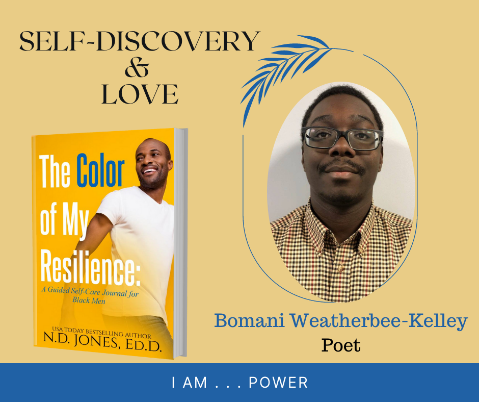 The Color of My Resilience A Guided Self Care Journal for Black Men by ND Jones Bomani Weatherbee