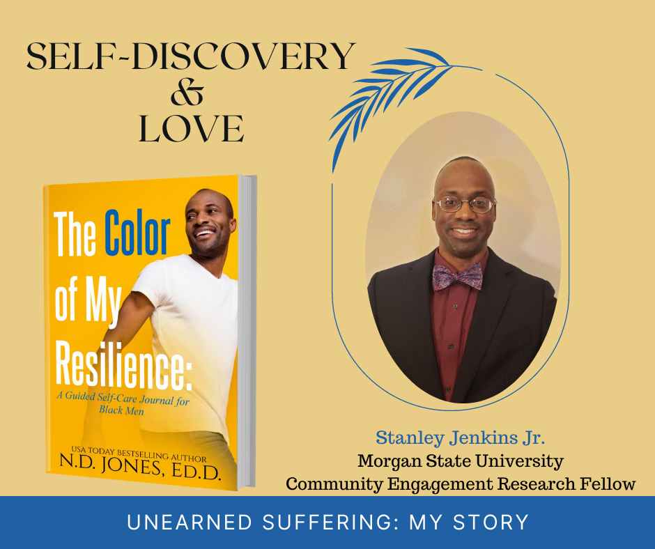 The Color of My Resilience A Guided Self Care Journal for Black Men by ND Jones Stanley Jenkins