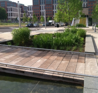 Canal Park Water Feature