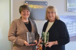 Lisa Brothers and Laurie Strickland - Brava Award