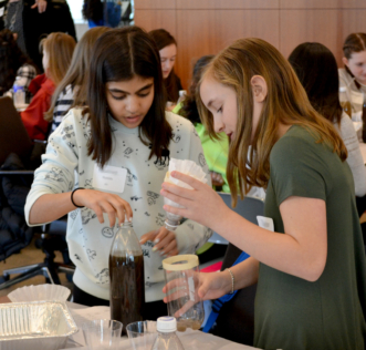 2018 Introduce a Girl to Engineering Day - Water Filter Activity