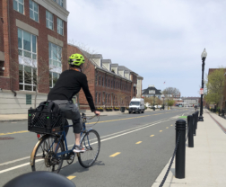 Connect Historic Boston - Constitution Road Bicycle Lane