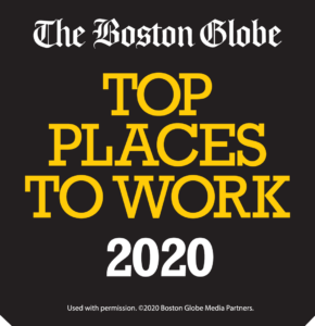 The Boston Globe: Top Places to Work 2020