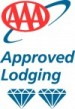 We're an AAA Approved Lodging Property