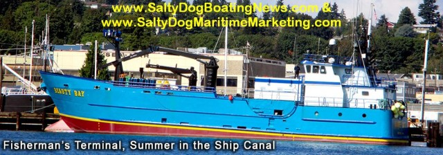 Salty Dog Maritime Marketing & Salty Dog Boating News - PNW & AK best Commercial Vessel Boat Spotting