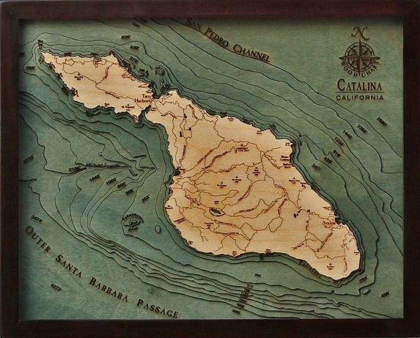 CATALINA ISLAND CA 16X20 138