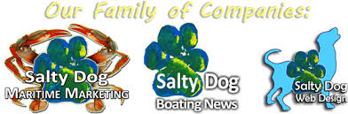 Salty Dog Maritime Marketing & Salty Dog Web Design - Leader in Commercial Seafood Industry, The Maritime Source!
