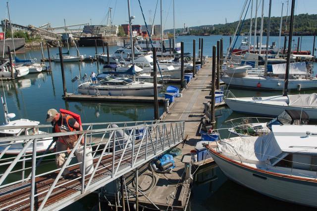 Harbor Island Marina, 6 July 2011.