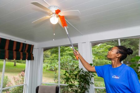 Professional dusting residential Mrs. Clean Pittsburgh, mrs clean pittsburgh, cleaning service near me, cleaning service pittsburgh, maid service near me, maid service in pittsburgh, cleaners near me, reliable maids, best cleaners, deep clean, housekeeping near me, dusting ceiling fan