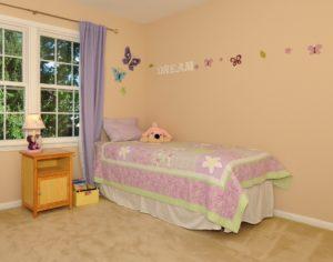 kids bedroom home staging