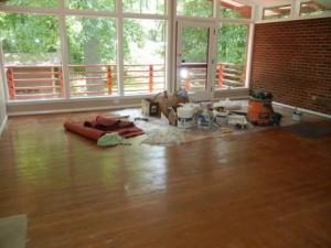 home staging living room Fairfax VA