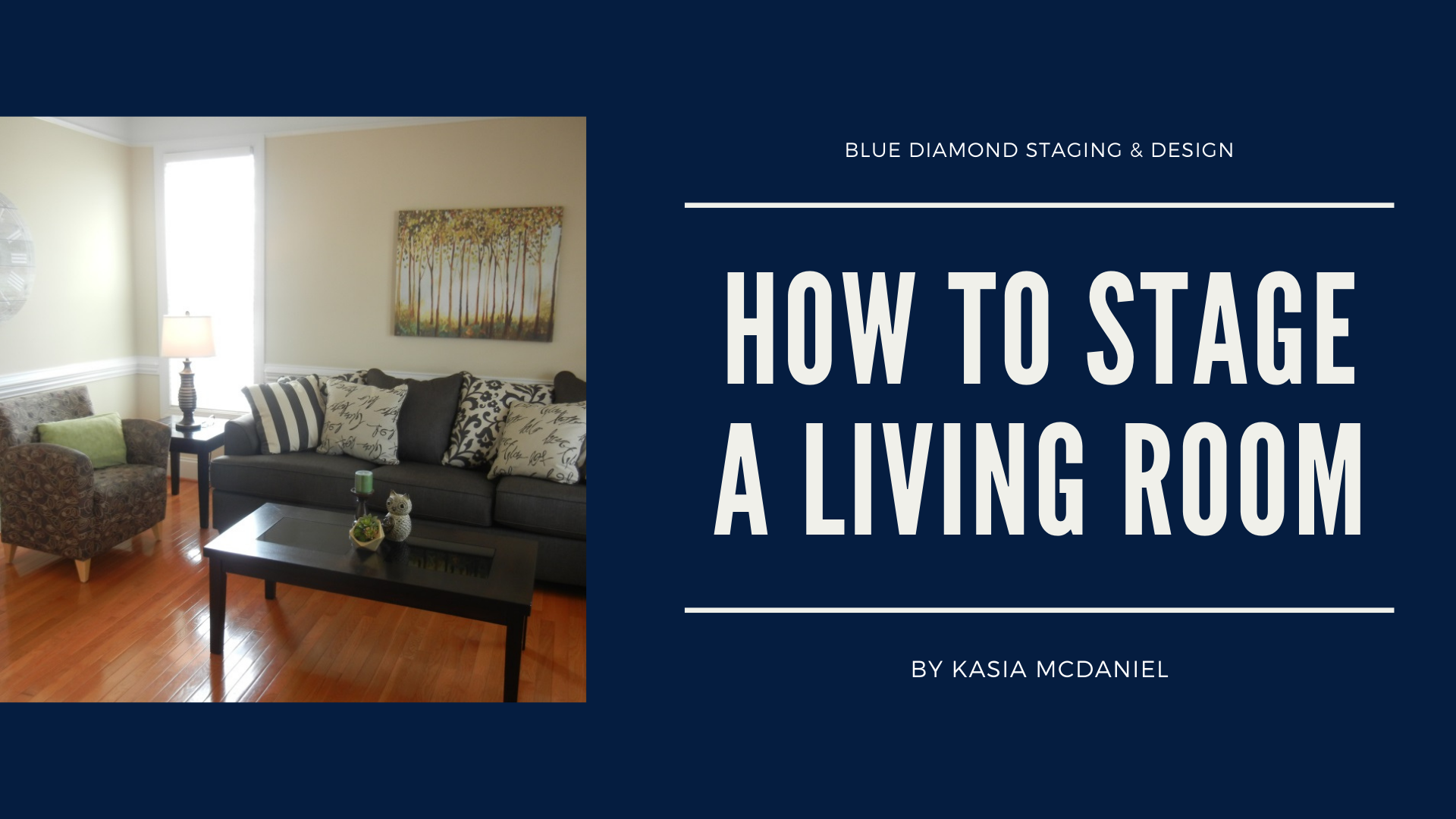 How to Stage a Living Room Course