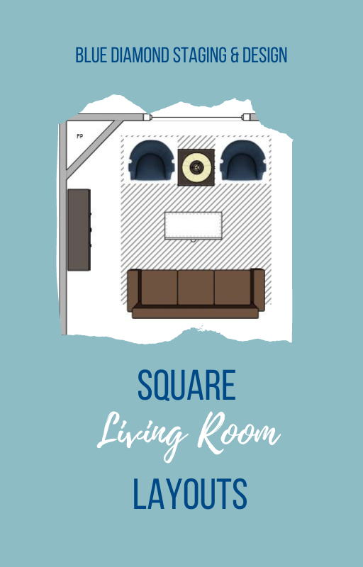 Square Living Room Layouts