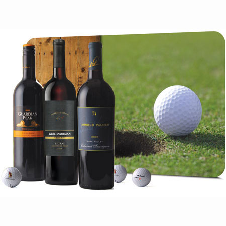 Wine Gift Set for the Golfer in Your Life