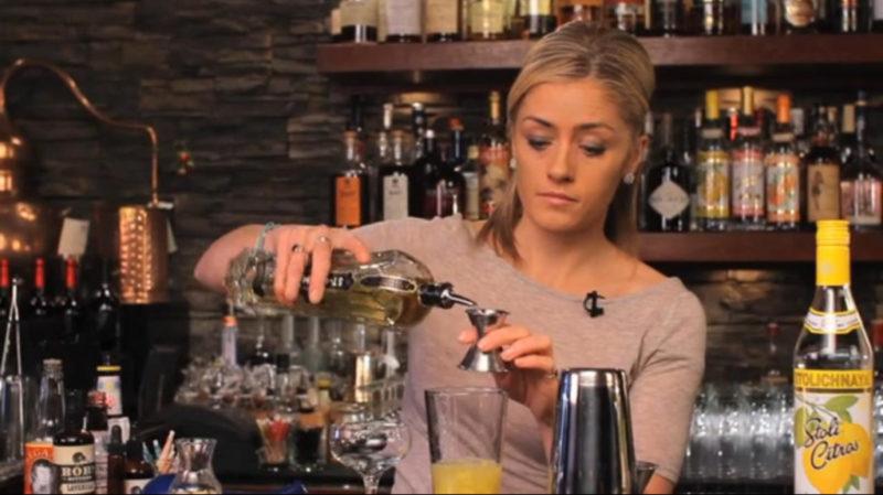 Lemon Drop Cocktail Using Stoli Citros Vodka