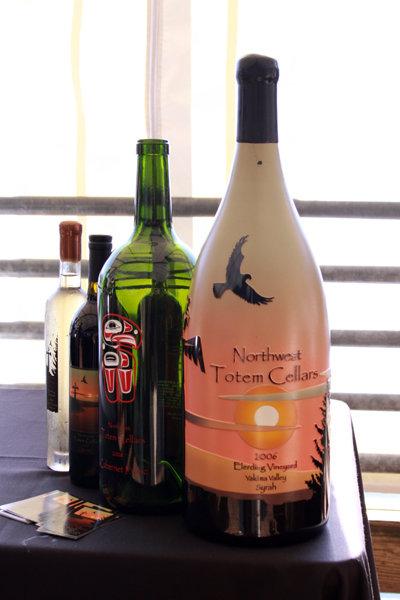 NW Totem Cellars wine