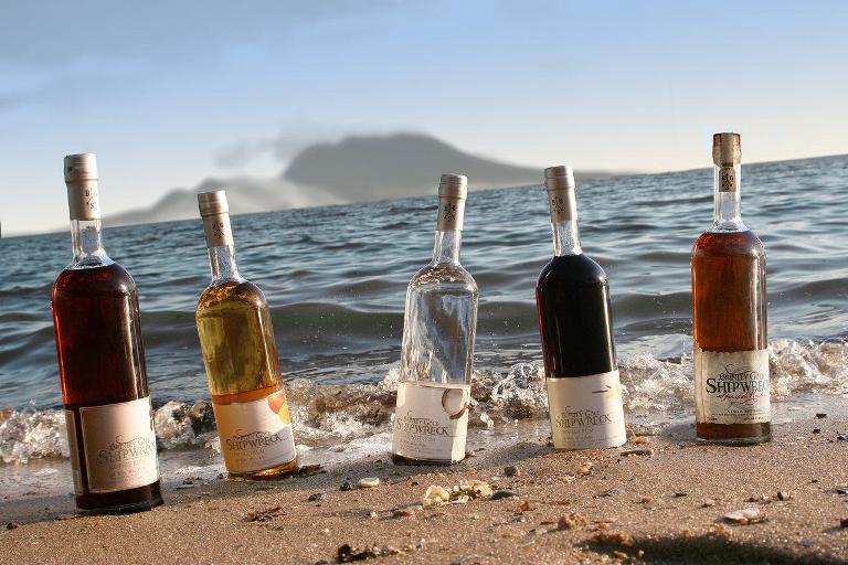 Shipwreck rum