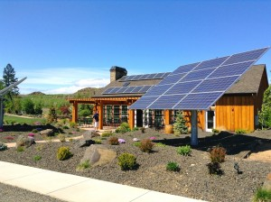 NHV is a bit of a drive outside of town, but well worth the beautiful property. Love the solar panels!
