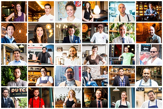 NYC 2013 Top Chefs & Bartenders under 30