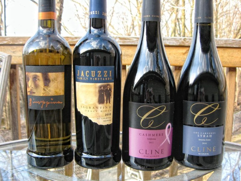 Cline Cellars Jacuzzi Family Wine Reviews