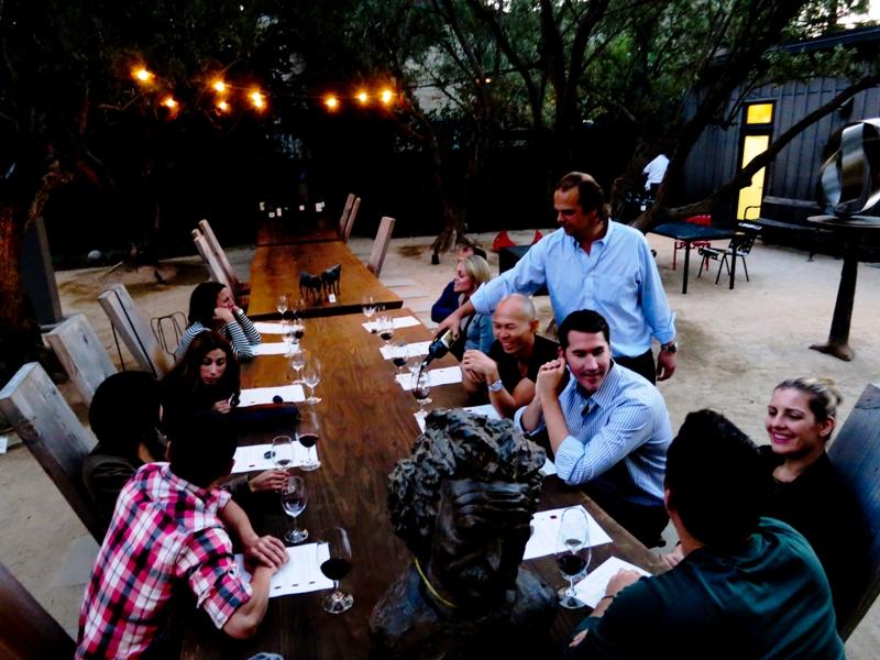Maisonry-winery-Napa-communal-table