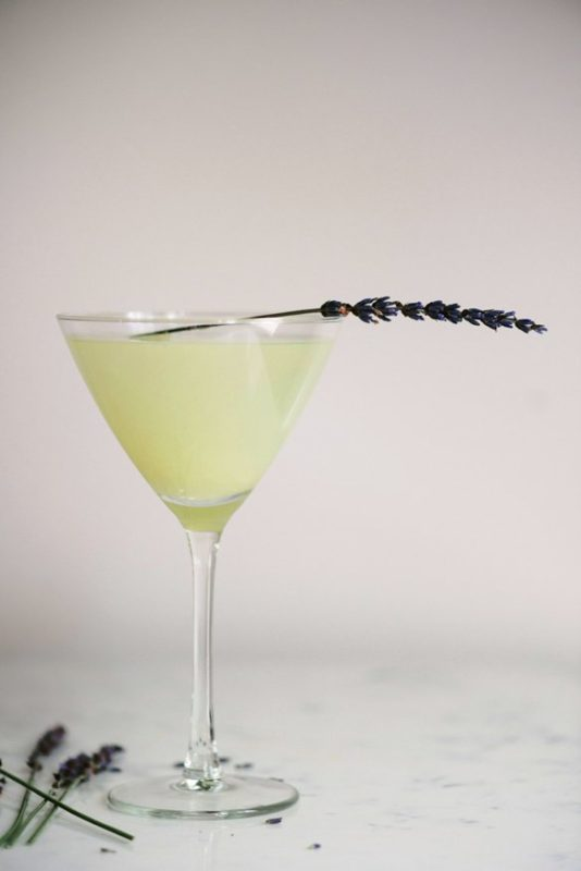 lavender lemon martini
