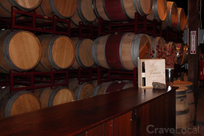 Vinoce-Winery-Twenty-Rows-Tasting-Room-Barrels-Napa-Valley