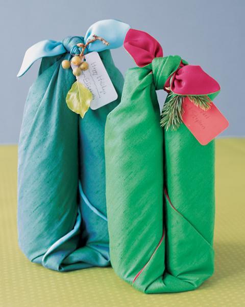 wine bottle wrap Earth Day gifts