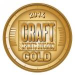 Azzurre Spirits Vodka Wins Craft Spirits Awards Gold Metal Winner