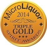 Azzurre Vodka Wins Micro Liquor Spirits Awards 2014 Triple Gold