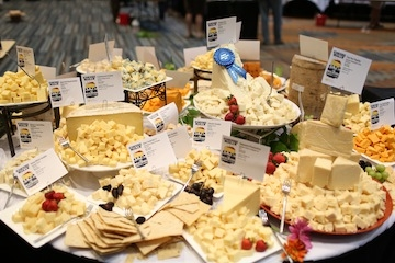 Festival of Cheese Display