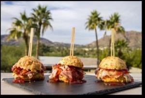 ham and jam sliders-sanctuary resort