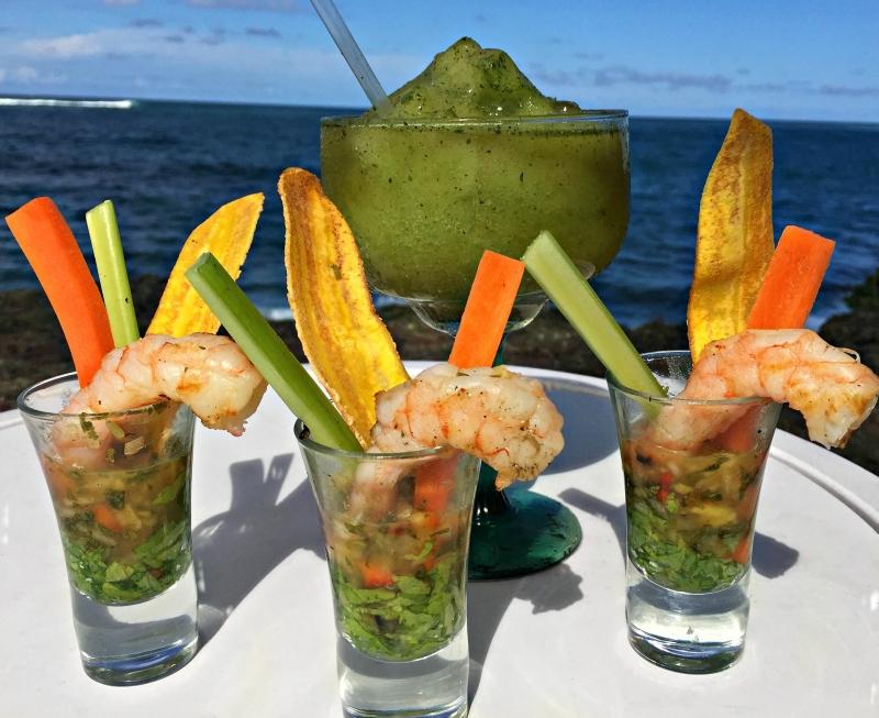 CPH Shrimp Shoot & Frozen Mojito