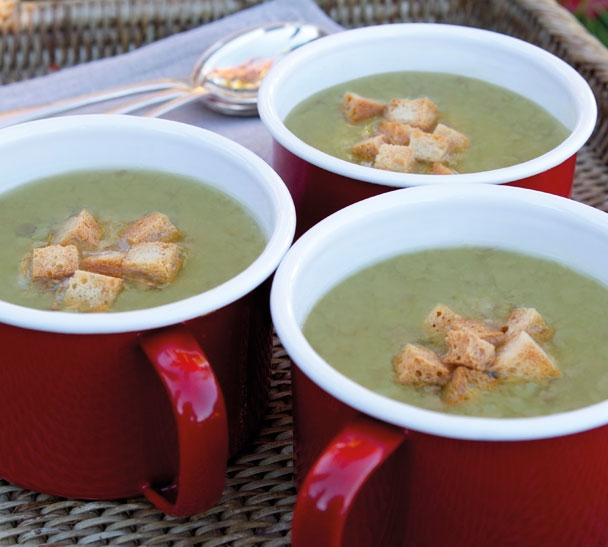 easy split pea and ham soup recipe