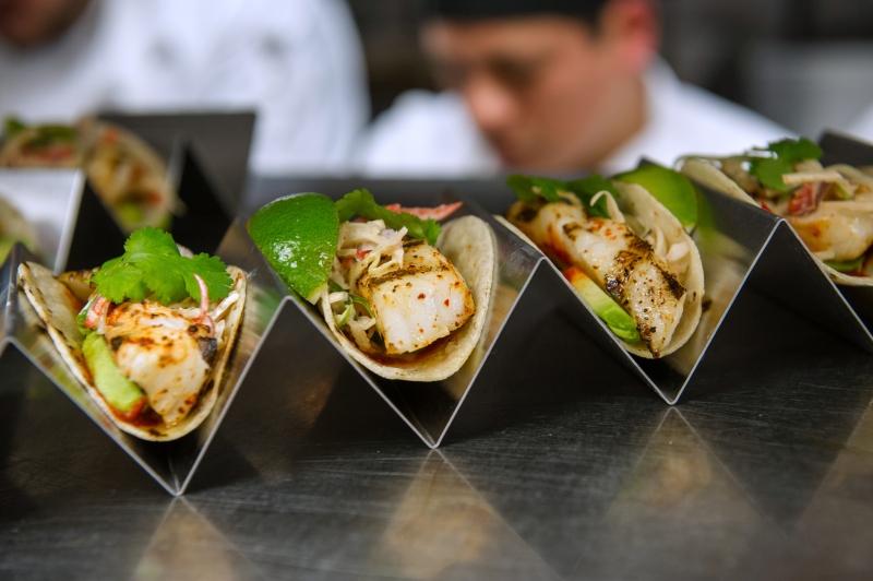 Grilled Sea Bass Taco