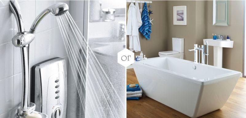 reduce water usage destress shower
