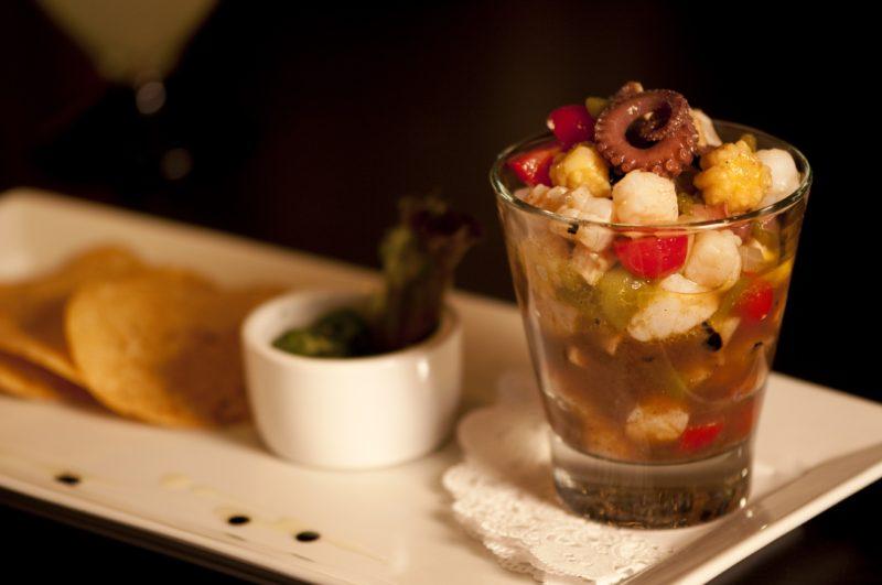 Seafood ceviche recipe octopus