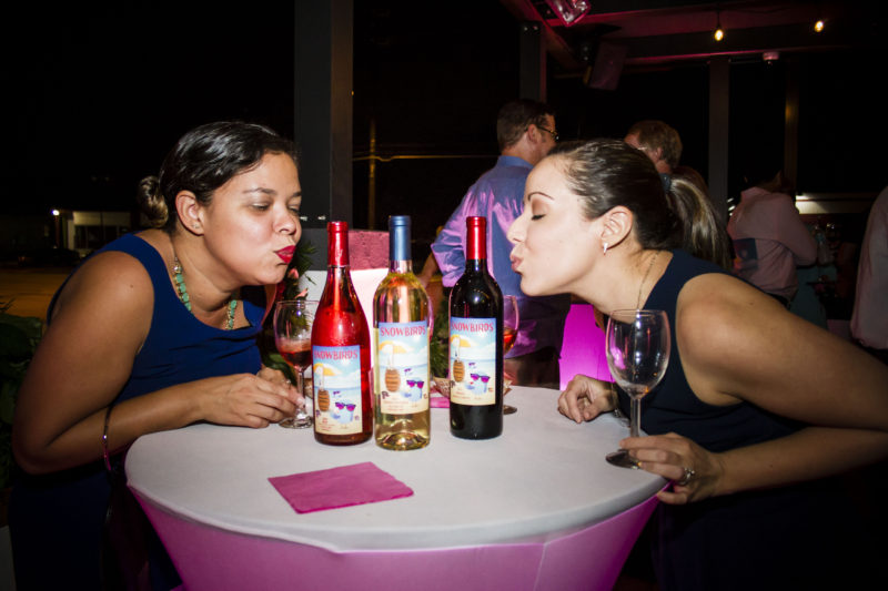 wine consulting agency FK Interactive - Snowbirds Vintners Launch Party